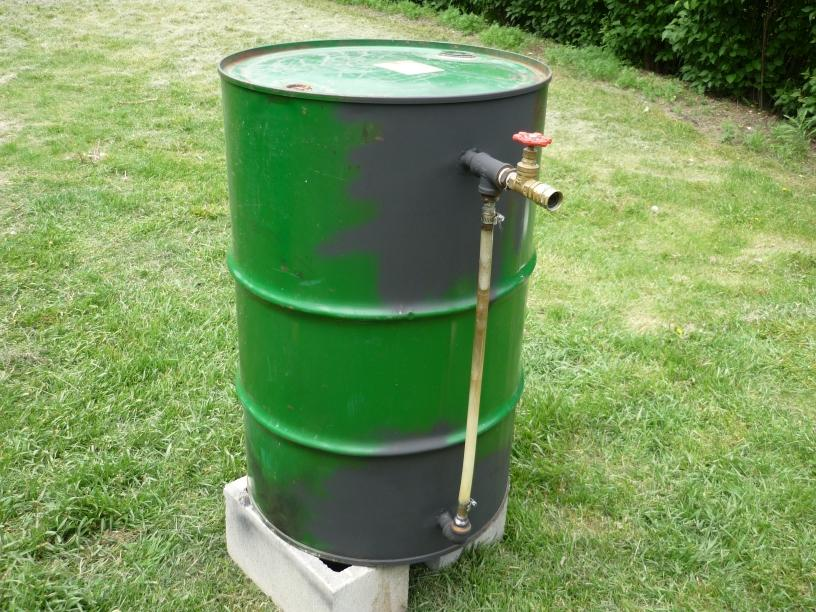 55 Gallon Drum Steam Boiler Sterilizer - Let's Grow Mushrooms