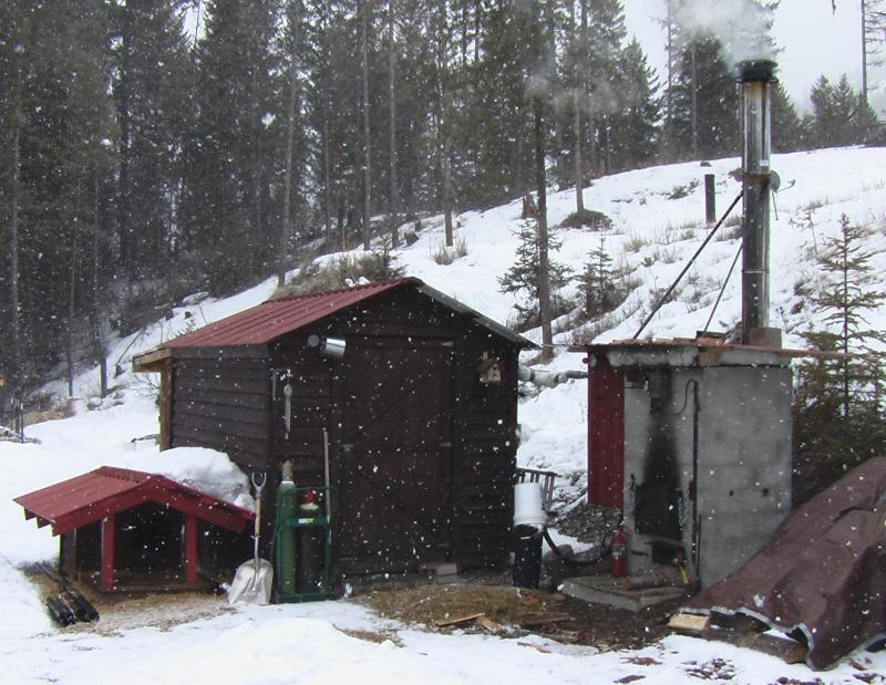 Wood-Fired Steam Boiler for Mushroom Farm - Let\'s Grow Mushrooms