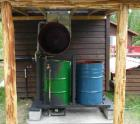 55 Gallon drum sterilizer system-Click to enlarge